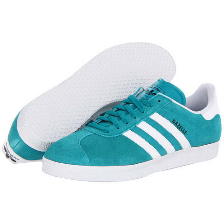 Кроссовки Adidas Gazelle, бирюза